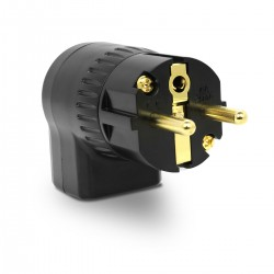 ELECAUDIO RS-24GB Hi-Fi Grade Power Plug 24K Gold Plated Ø 16.5mm