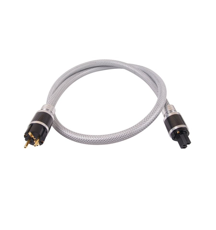 ELECAUDIO CS-361B Power Cable OCC PTFE Insulation 3x2.5mm² 1.50m ...
