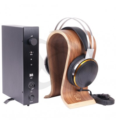 KINGSOUND M-10 Amplificateur & KS-H3 Casque Electrostatique Pack Black