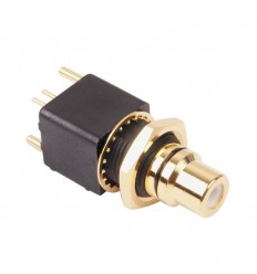 ELECAUDIO ER-107B RCA Jack Gold Plated 24K (unit)