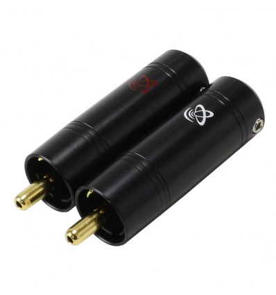 ELECAUDIO RC90-REDC RCA Connectors Red Copper Gold plated 24K Ø 9mm (Pair)
